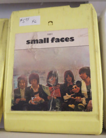 Small Faces 8-Track vintage