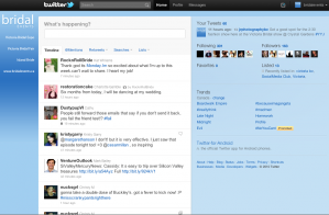 The new Twitter