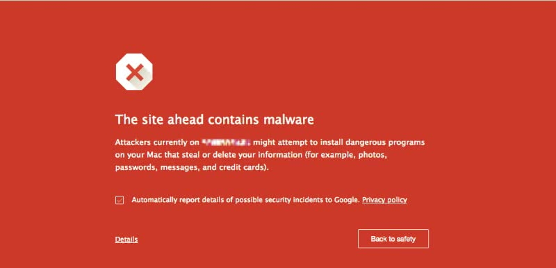 Warning! This Site May Harm Your Computer - Caorda Web Solutions
