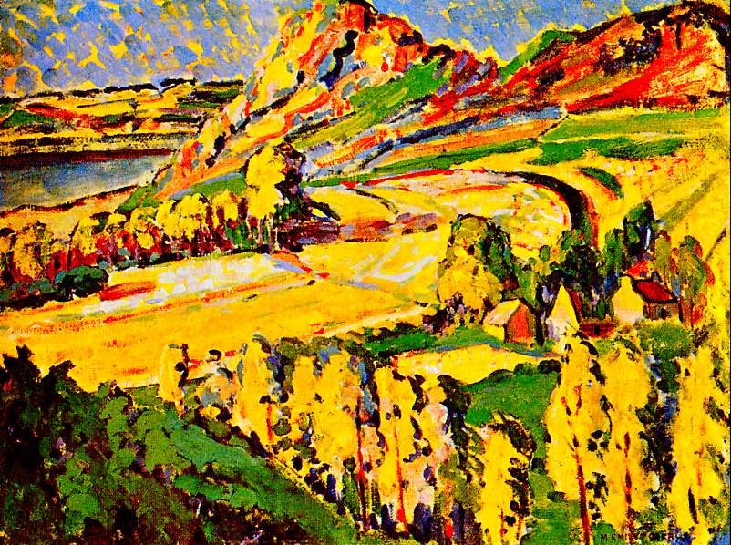 emily-carr-art-autumn-in-france-painting
