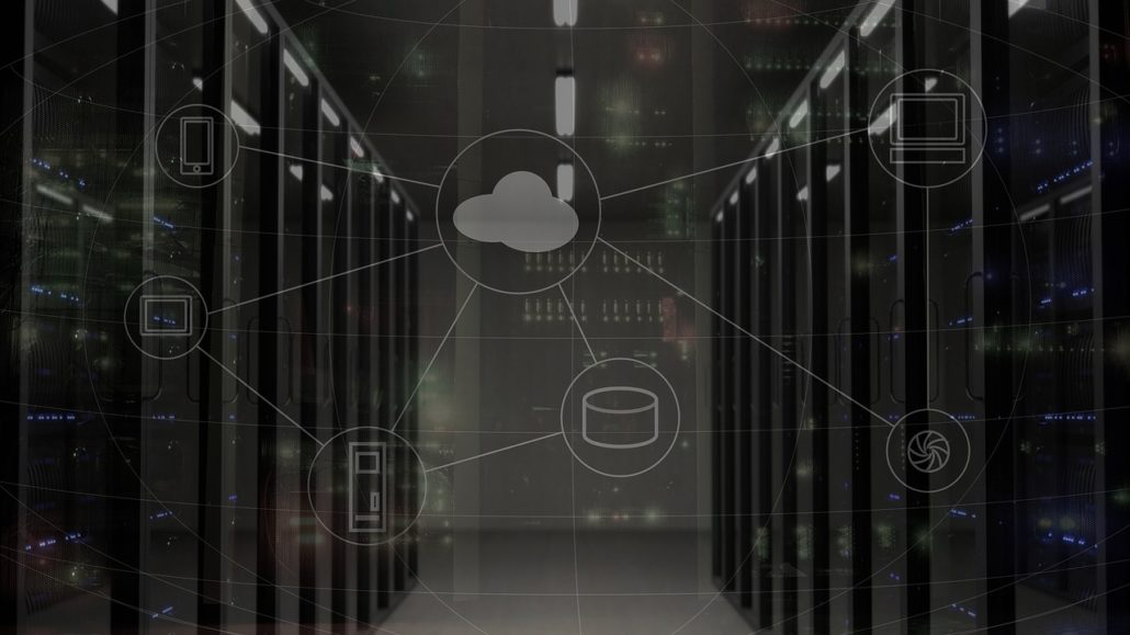 web-cloud-hosting-servers-network