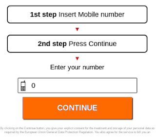 Are you sure? Scammy mobile form