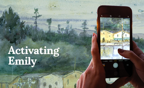 Emily Carr Image Recognition App – Activating Emily